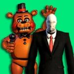 Slenderman VS Freddy The Fazbear